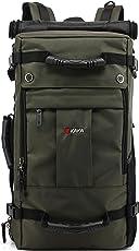 KAKA Multifunctional Water Resistant 35 L Army Green Hiking Backpack