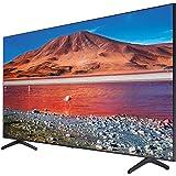 تلفزيون سامسونج 43 بوصة 4 كيه Ultra HD سمارت LED مع جهاز استقبال مدمج - UA43TU7000UXEG