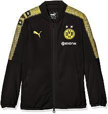 Puma Kinder BVB Poly Jacket Sponsor Logo 2 Side Pockets with Z Jacke