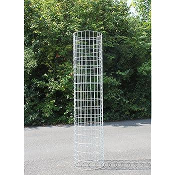 Maschenweite 5 x 5 cm Gabione//Säule Höhe 160 cm GABIONENSÄULE eckig 37 x 37 cm