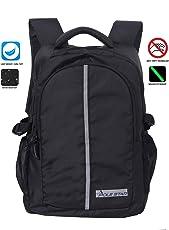 POLE STAR Anti Theft Shield Polyester 32 Ltr Black Laptop Office backpack
