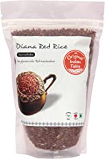 Original Indian Table Dia Anna Red Rice, Parboiled, 400g