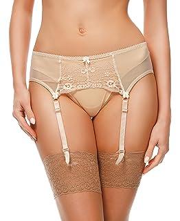 Merry Style Porte-Jarretelles en Dentelle Lingerie Sexy sous-vêtement Femme  911 675c1ee4221