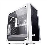 Fractal Design en Verre trempé Haute Circulation d'air Compact Meshify C ATX PC Portables–Blanc