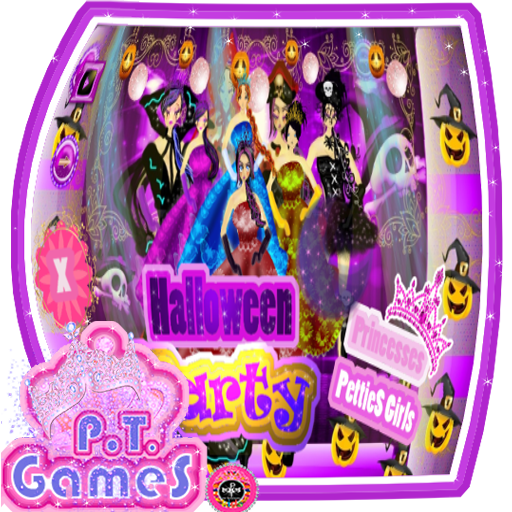 Princesses PettieS Girls: Halloween Party -  Princesas PettieS Girls: Festa de Halloween