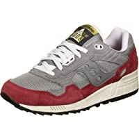 Saucony Shadow 5000 Grey/Red, Scarpe da Campo e da Pista Unisex-Adulto