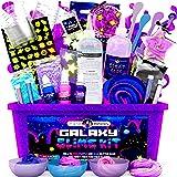 Original Stationery Galaxy Slime Making Kit with Glow In The Dark Stars & Slime Powder to make Glitter Galactic Slime! Slime