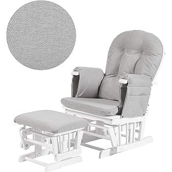 wholesale dealer df8c2 de521 NOIR (Black) Couture Cloud Nine Nursing Chair And Stool ...