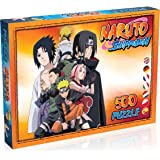 Winning Moves - Naruto Shippuden-puzzel, 500 stukjes, WM00138-ML1-6, meerkleurig