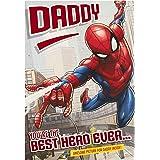 Hallmark Carte d'anniversaire pour papa Motif Spider-Man de Marvel's