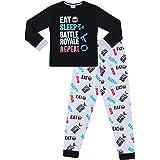 The PyjamaFactory Eat Sleep Battle Royale - Pijama largo de algodón
