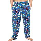 Disney Mickey Mouse Mens Lounge Pants, Cotton Pyjama Bottoms, Novelty Gifts