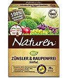 Naturen Bio Zünsler-& Raupenfrei XenTari, Hoch wirksames biologisches  gegen Buchbaumzünsler und zur Bekämpfung von Schadraupen an Zierpflanzen, Obst, Gemüse und Weinreben, 8x2,5 g Portionsbeutel