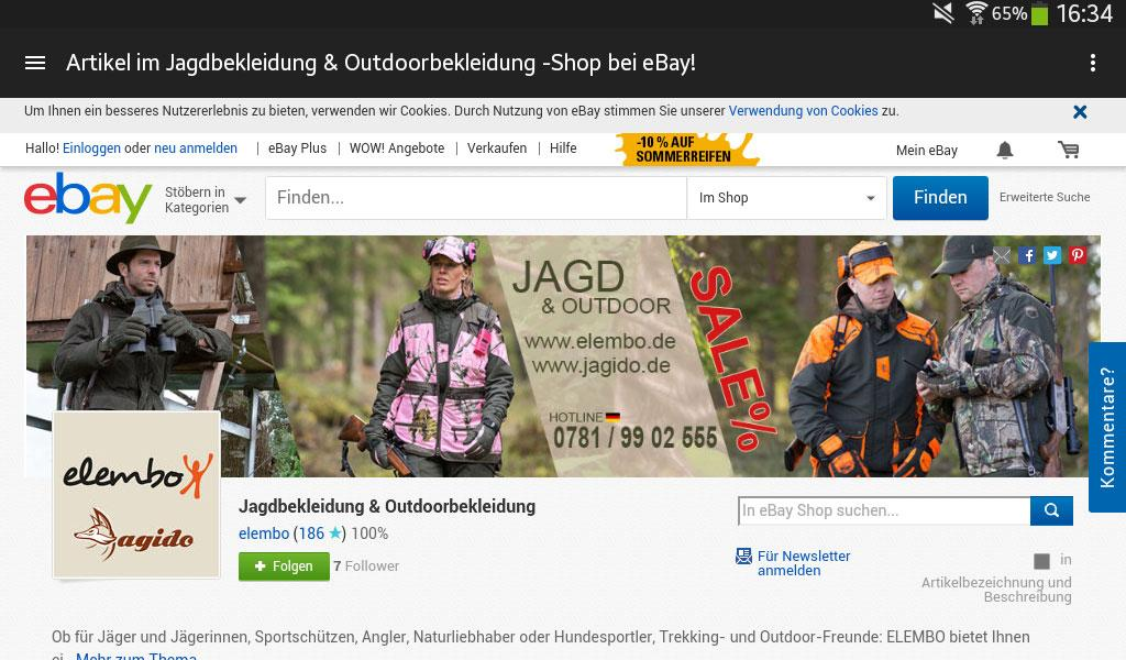 fdec63c4ee6762 JAGIDO JAGDSHOP  Amazon.de  Apps für Android