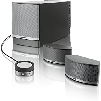 bose companion 5 multimedia lautsprecher system amazon. Black Bedroom Furniture Sets. Home Design Ideas