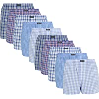 Lower East American Style Boxer Homme, Lot de 6 et 10