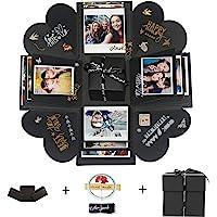 Hbsite Boîte à Surprise Bricolage Explosion Bricolage Photo à la Main boîte à Surprise Amour Souvenir boîte de Cadeau de…