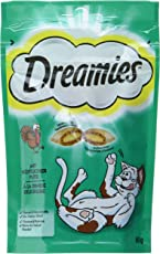 Dreamies Katzensnacks/Klassiker Klassiker, mit Pute, 6 Beutel (6 x 60 g)