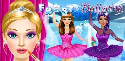 Ballerina Salon: Spa, Makeup and Dress Up - Ballet Beauty Makeover Girls Game!