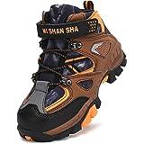 Mishansha Bambini Scarpe da Trekking Stivali da Escursionismo Scarponi Neve per Ragazzi Ragazze Gr.26-40