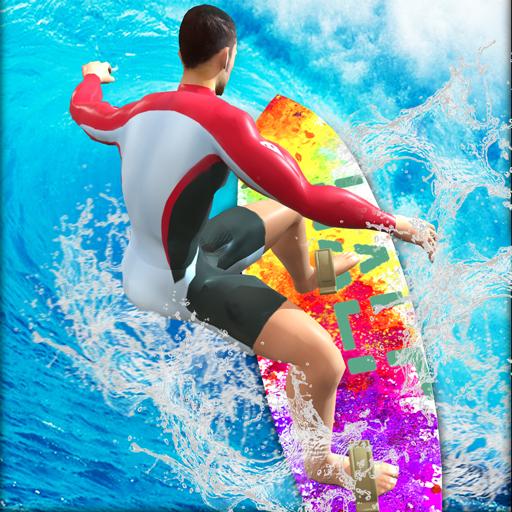 extreme Wassersurf-Stunts - erstaunliches Sommersport-Simulatorspiel (Sport-spiele Für Mädchen)