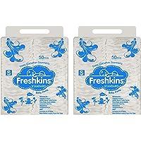 Freshkins Standard Diaper Pant Small - (Pack of 2, 100 Unit)