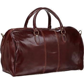 Floto Luggage Venezia Duffle, Vecchio Brown, One Size
