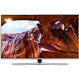 "Samsung UE55RU7450UXZT Smart TV 4K Ultra HD 55"" Wi-Fi DVB-T2CS2, Serie RU7450 2019, 3840 x 2160 Pixels, Argento (Silver), [Esclusiva Amazon]"