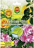 COMPO Fetrilon 13%, Dünger gegen Eisenmangel/Chlorose für alle Zier- und Nutzpflanzen, 1 Tütchen mit 20 g, Braun