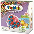 PlayMais Mosaic Kit de Loisirs créatifs Little Bug pour Fille et garçon à partir de 3 Ans   2300+ pièces & 6 modèles de mosaï
