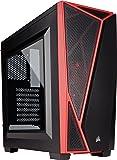 Corsair Carbide SPEC 04 Boîtier Gaming Moyen-Tour (Mid-Tower ATX, Fenêtré Moyenne) Noir