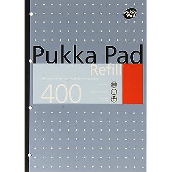 Plain 6 Packs of Pukka Pad A4 Head bound 80 Sheets Paper Notepad Refill Pad