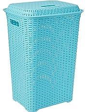 Cello Eliza Plastic Laundry Basket, 50 Litres