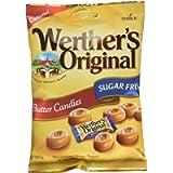 Werther's Original Sugar Free Butter Candies 80 g (Pack of 18), 1440 g