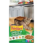 Purina Friskies Indoor Delight Dry Cat Food, 3.15 Pounds