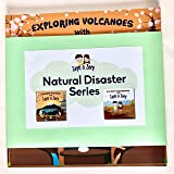 Zayn and Zoey Natural Disasters Set of 2 books (Volcanoes, Earthquakes) - Educational Story Book for Kids - Children's Early