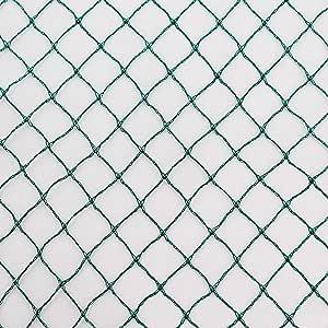 Netz 5 m x 10 m Masche 10 cm Teichnetz Volierennetz Vogelschutznetz