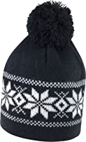 Result Headwear Unisex Bommel-Mütze Fair Isle Knitted Hat