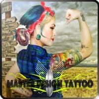 Master design tattoo