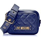 Love Moschino Quilted Nappa Pu, Borsa a Tracolla Donna