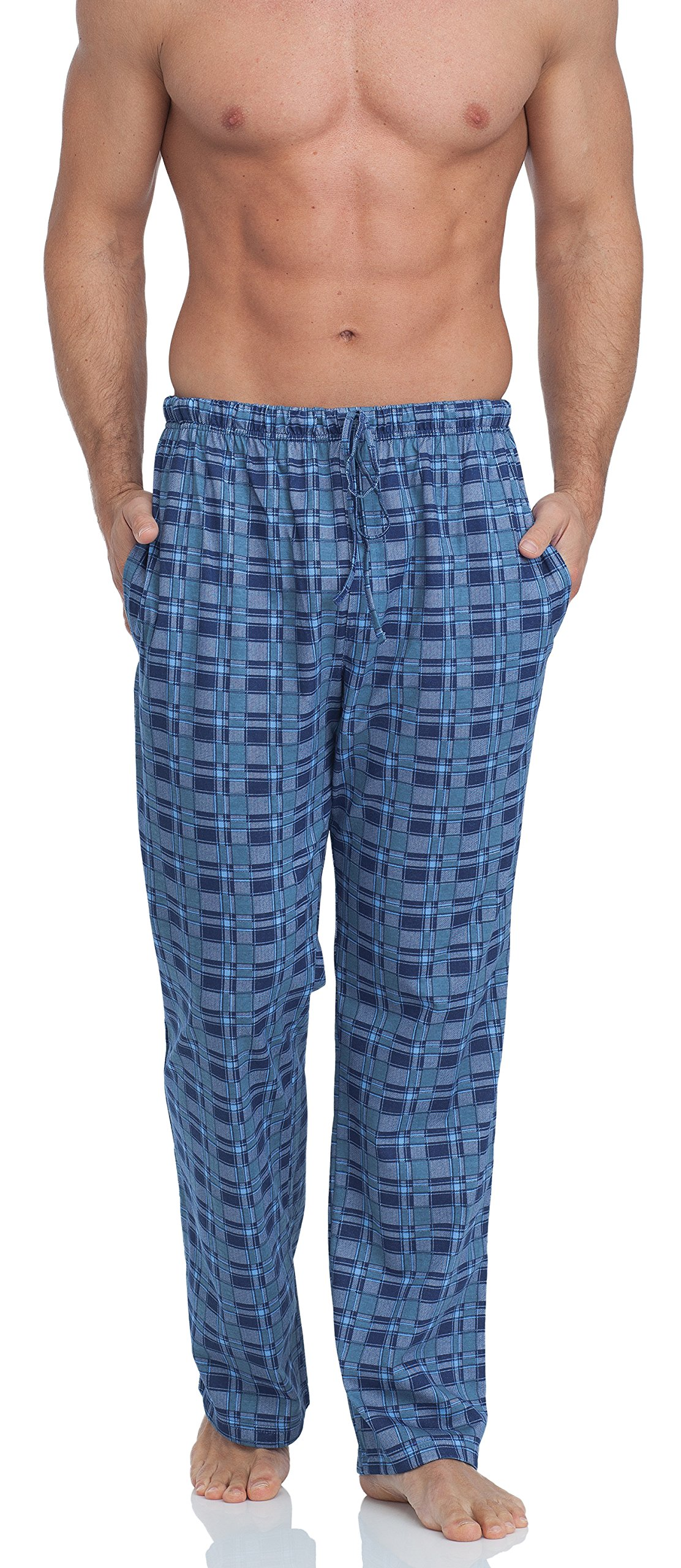 Timone Pantalones Largos de Pijamas 100% Algodón Hombre TPP-001
