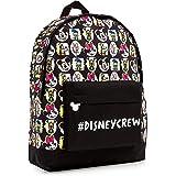 Disney Mochilas Escolares, Material Escolar para Niñas, Mochila Infantil con Mickey Mouse Minnie Mouse Pluto Pato Donald y Da