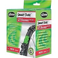 Slime 30023 Bike Inner Tube with Slime Puncture Sealant, Self Sealing, Prevent and Repair, Presta Valve, 50/60-584mm (27…