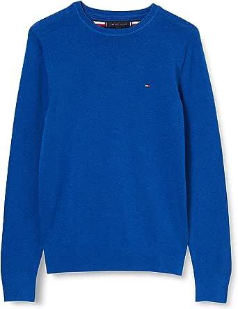 Tommy Hilfiger Men's Organic Cotton Silk Crew Neck Sweatshirt,