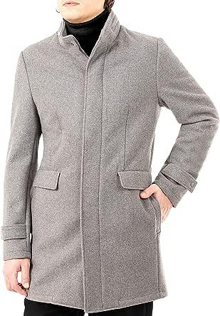 DKNY Men's Dorian Wool Blend Coat