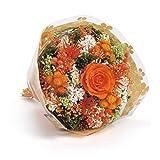 Orange Bouquet-Garden Sanremo getrocknete Blumen von der italienischen Riviera dei Fiori mit stabilisierter Rose