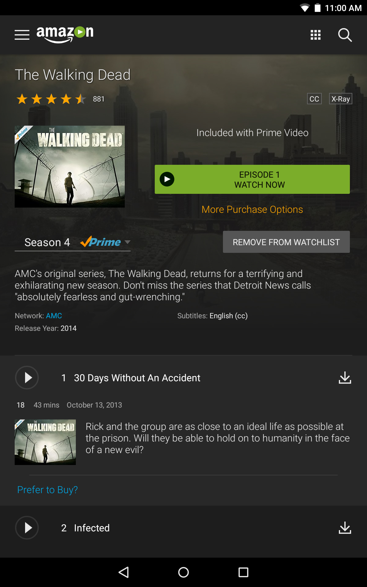 Amazon Prime Video: Amazon.co.uk: Appstore For Android
