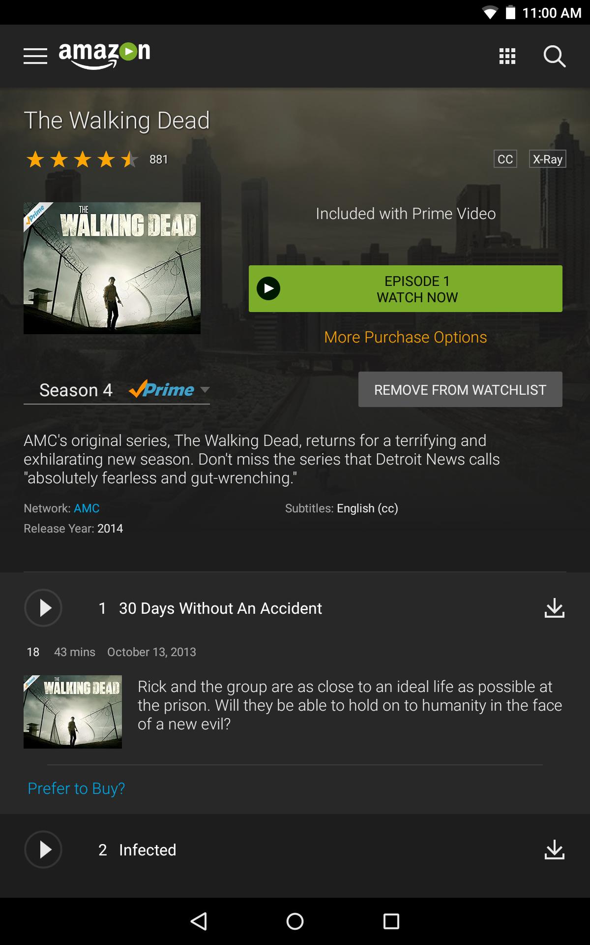 Serienempfehlung Amazon Prime