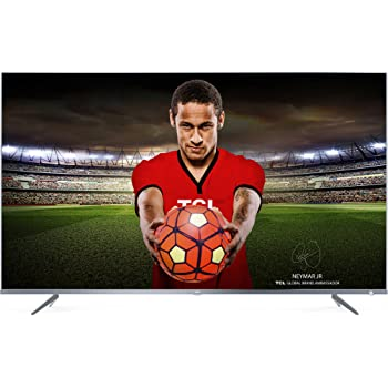 TCL 55DP661 televisore 55 pollici (Smart TV, 4K UHD, HDR Pro, Android TV, Wide Color Gamut, DTS Premium Sound) Silver Metal