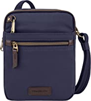 Travelon Anti-Theft Courier Small N/s Slim Travel Tote Navy One Size